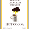 newmans chocolate thunder label 1