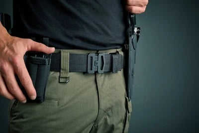 Kore Essentials Black Tactical Garrison Belt 1 75 G1 Buckle Gold Star Holsters Save up to 25% off when you grab up to 25% off at kore essentials using the coupon code listed here. kore essentials black tactical garrison belt 1 75 g1 buckle